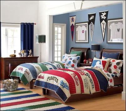 Teen Boys Sports Theme Bedrooms Room Design Inspirations