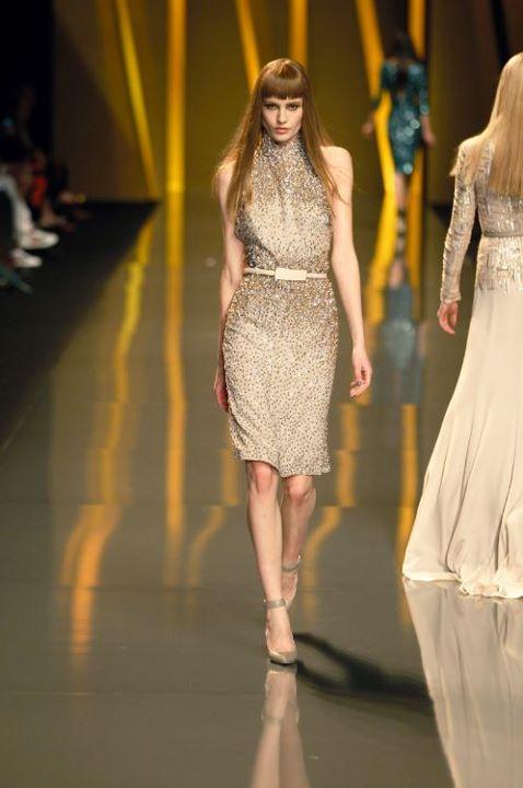 ELIE SAAB Ready-to-Wear Autumn Winter 2014-2015 Fashion