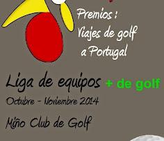 Liga de equipos + de golf
