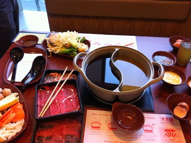 Sukiyaki Singapore buffet