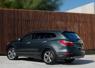 2013 Hyundai Santa Fe XL green