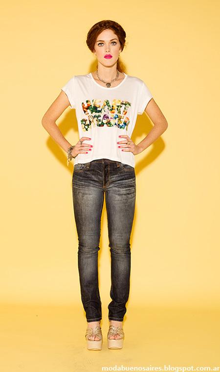 Moda jeans verano 2015 Sans Doute.