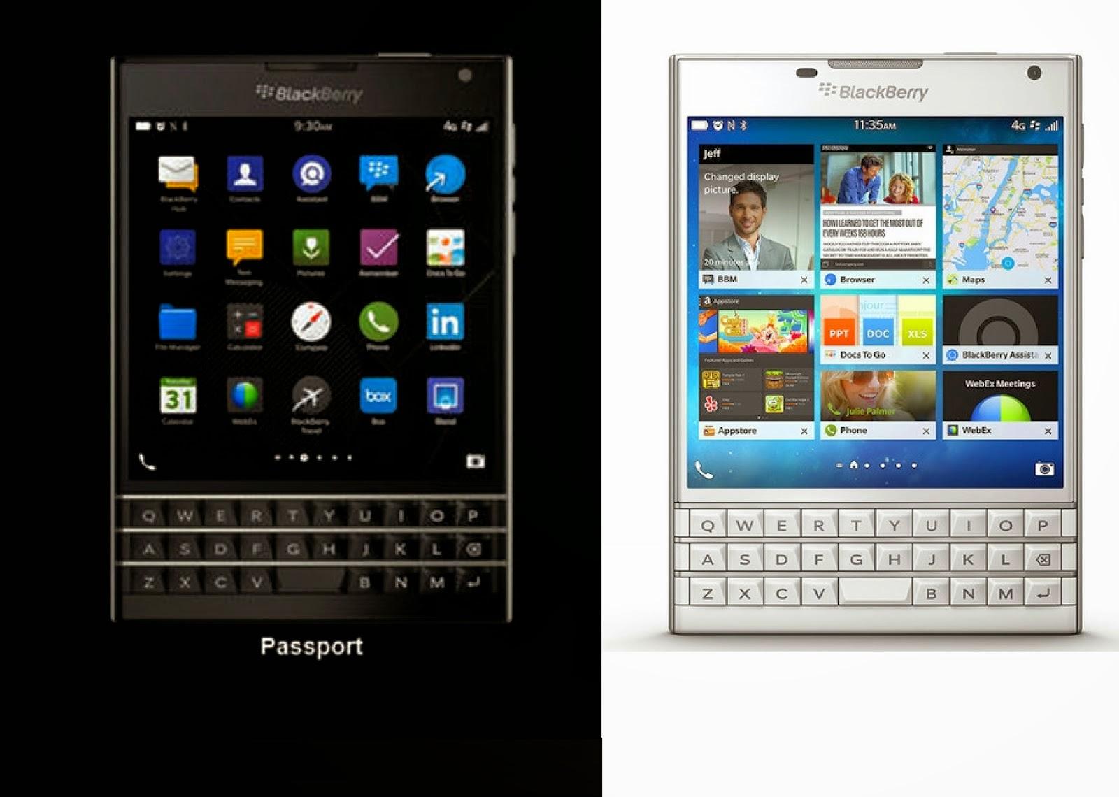 Harga Dan Spesifikasi Blackberry Passport