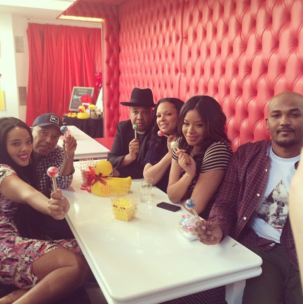simmons wayans celebrate at vanessa mike s baby shower angela simmons