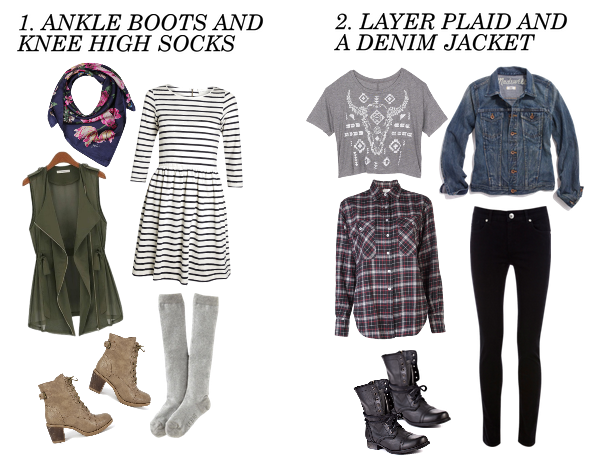 fall outfit ideas for school