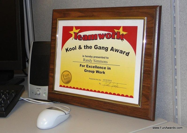 funny award ideas funny employee awards in the news