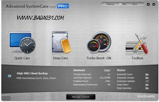 Advanced SystemCare Pro v4.0.0.163 Final + Serial 3