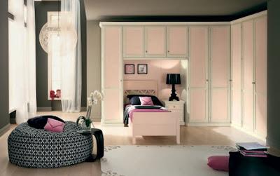 foto dormitorio rosa niña