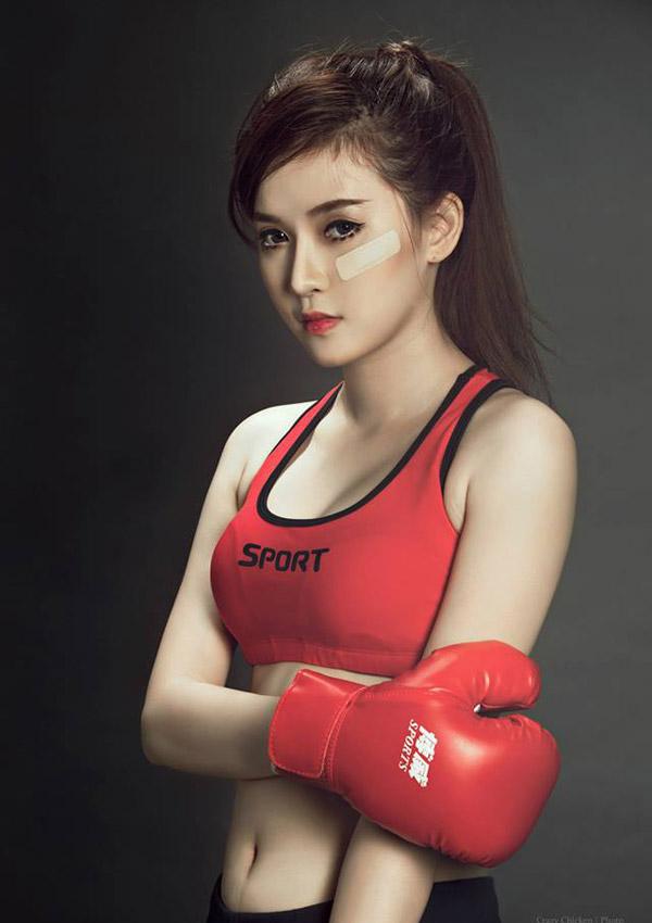 Ảnh gái đẹp HD Boxing girl Hồng Phúc nóng bỏng 9
