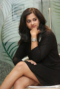 Nandita raj sizzling pics in black-thumbnail-7
