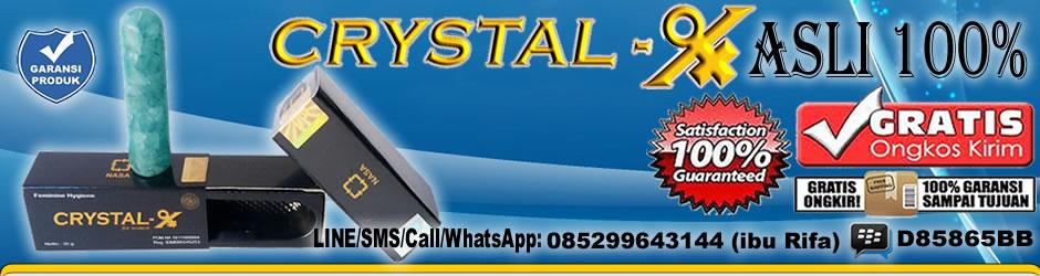 Jual Grosir Crystal X asli dari PT. NASA stockist DD897 SURABAYA, SIDOARJO, GRESIK