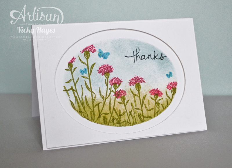 Stampin up ideas and supplies from vicky at crafting clares paper stampin up ideas and supplies from vicky at crafting clares paper moments im wild about wild about flowers mightylinksfo