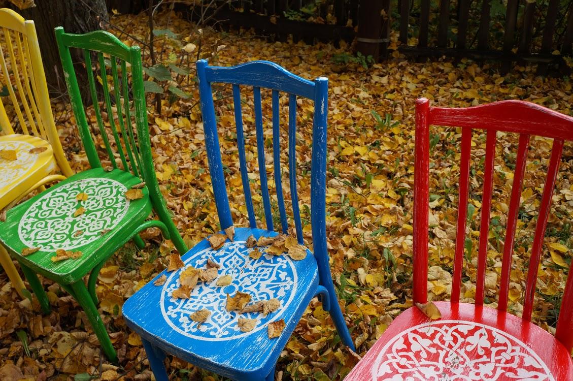 декор стула