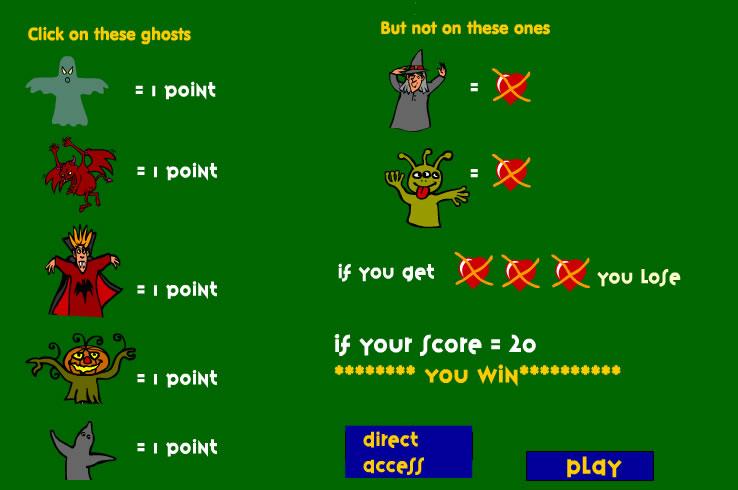 Kids Game : Haunted