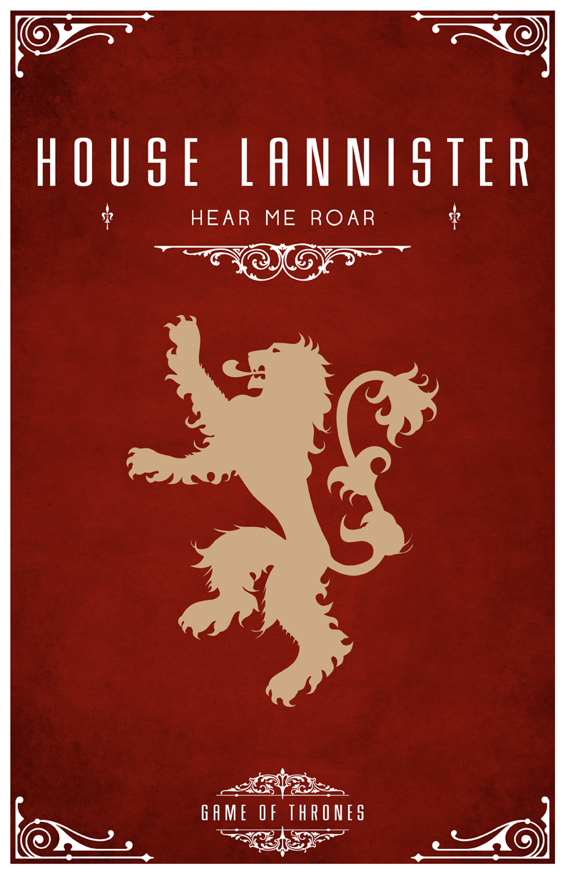 Game Of Thrones House Lannister Wallpaper Game Of Thrones