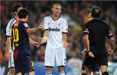 Pepe: «Los del Barcelona son muy teatreros»