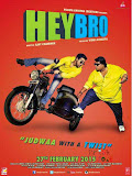Ganesh Acharya in Hey Bro Hindi Movie Poster