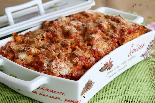 pennette al forno con broccoli e prosciutto e #parmigiano reggiano night2