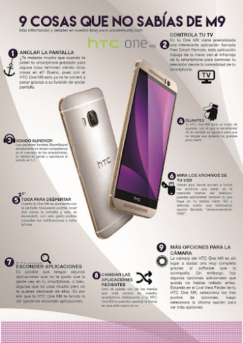 INFOGRAFÍA HTC ONE M9