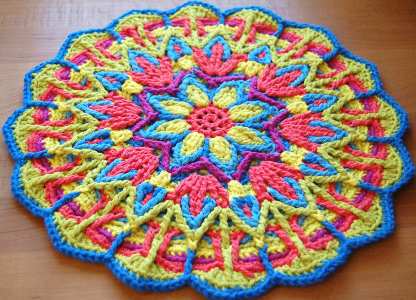 Crochet Patterns Using Mandala Yarn : ... Crochet Mandala Pattern, Crochet Mandala Patterns, Mandalas Crochet