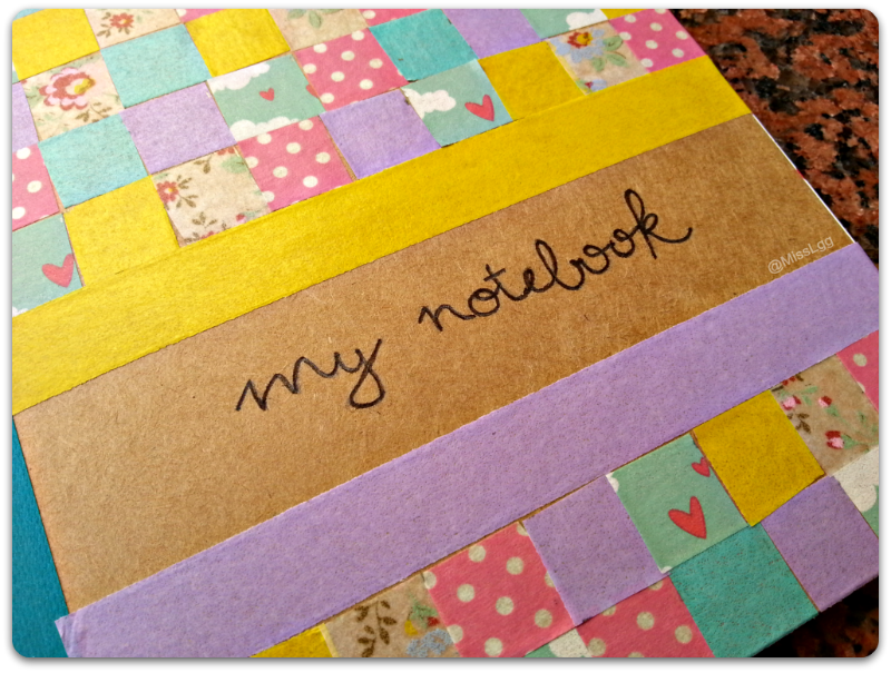 my notebook journal deco diy washi tape