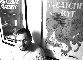 Catcher in the Rye, Great Gatsby posters, Chris Plumb