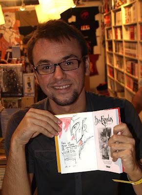 Kenny Ruiz, dibujante alicantino y premio al Mejor Autor del Salón del Cómic Manga de Barcelona