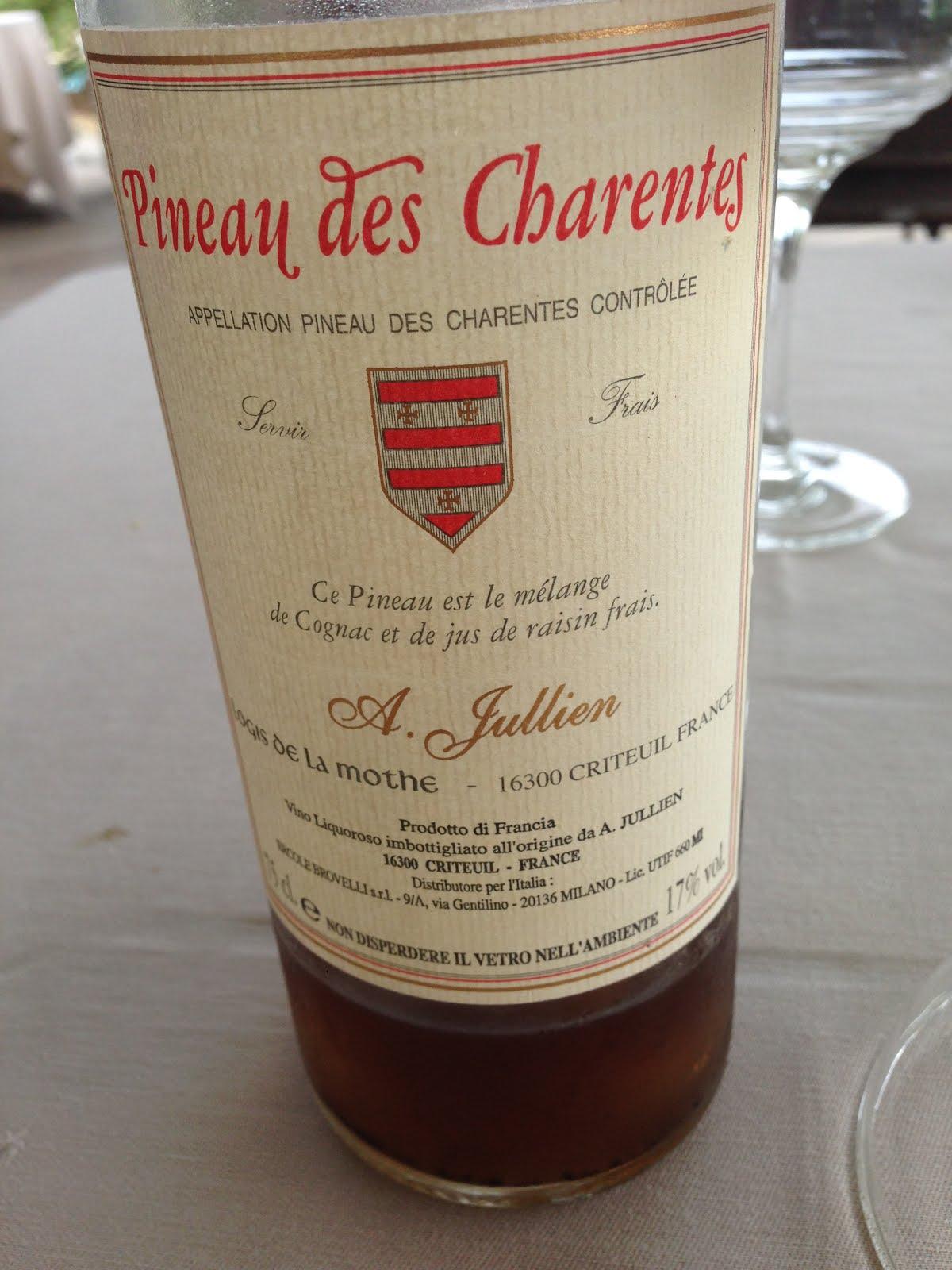 Vino Cucina Ingegneria Vino 144 Pineau Des Charentes A Jullien
