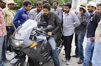 Nagarjuna Bike Riding Photos