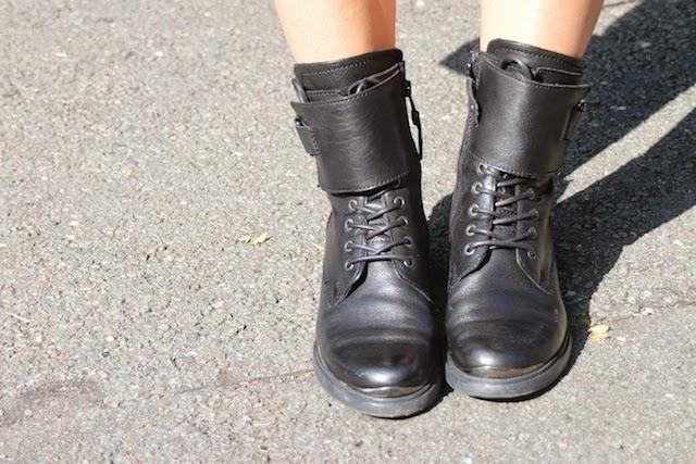 rangers, minelli, boots à lacets, rangers pour filles, fashion blogger, blog mode lille