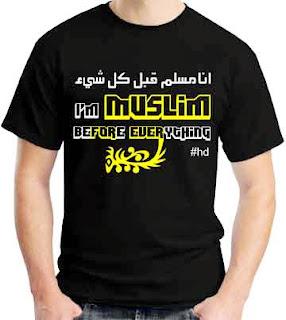 Kaos Distro Muslim Terbaru
