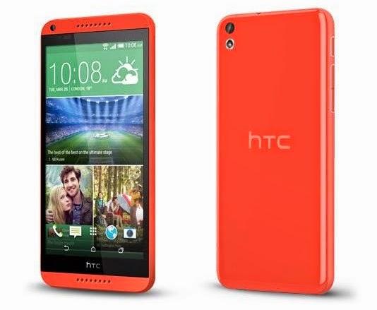 Harga Dan Spesifikasi Smartphone HTC Desire 816