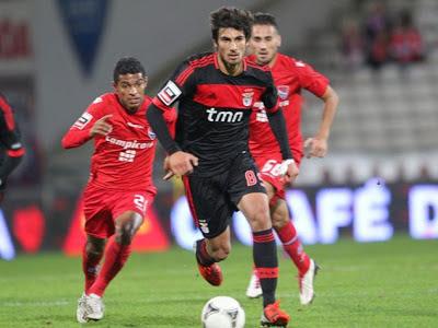 André Gomes, jogador do Benfica e da seleção portuguesa