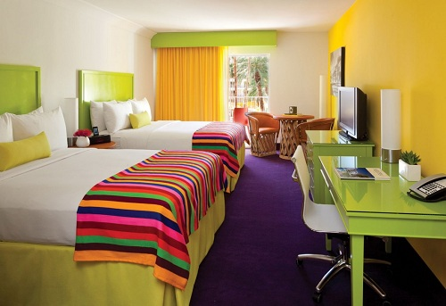 Saguaro Palm Springs Hotel   Habitación