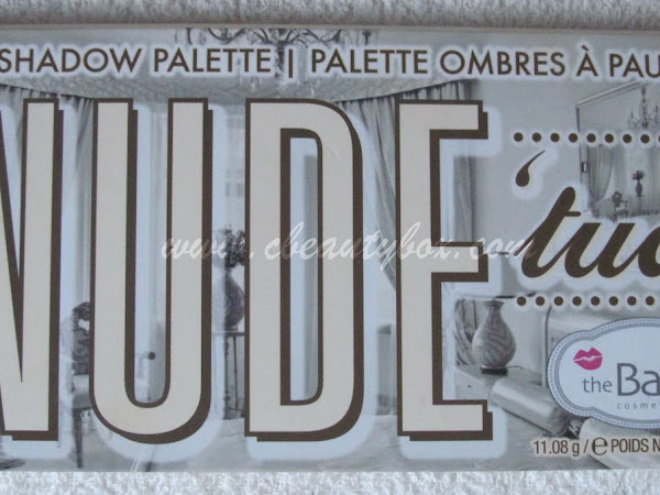 theBalm Nude'tude Swatches and Review!