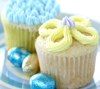 Easter Surprise Cupcakes Recipes — Dishmaps
