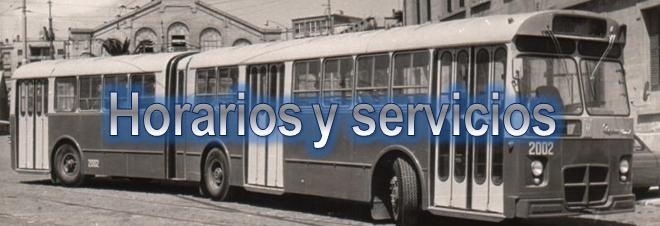 Consulta horarios y servicios