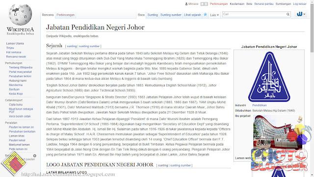 JPN Johor on Wikipedia