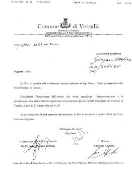 VETRALLA L'ATLETA MARCO CIMA ALLE PARALIMPIADI 2012 SCHERMA IN CARROZZINA