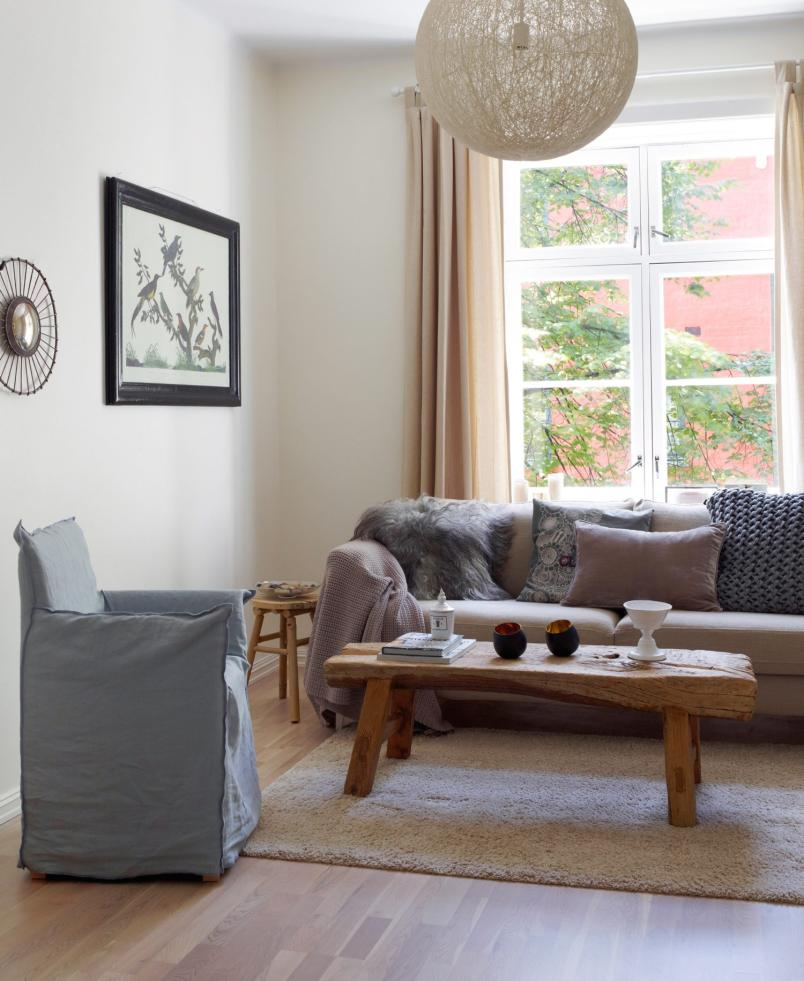 Boho deco chic un piso para adaptar a casas reales for Ideas decoracion piso