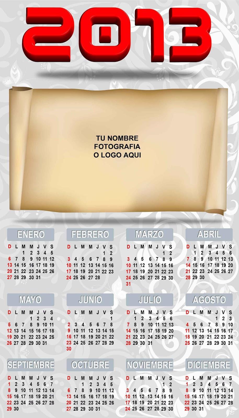 Calendario 2013 personalizado com foto 72