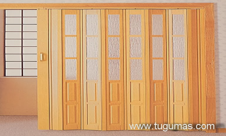 BAHAN BANGUNAN: Mengenal Pintu Folding Gate PVC | Folding Door PVC