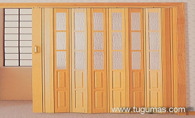 ... BAHAN BANGUNAN: Mengenal Pintu Folding Gate PVC | Folding Door PVC
