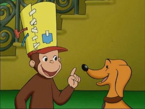 Curious George: The Fully Automatic Monkey Fun Hat