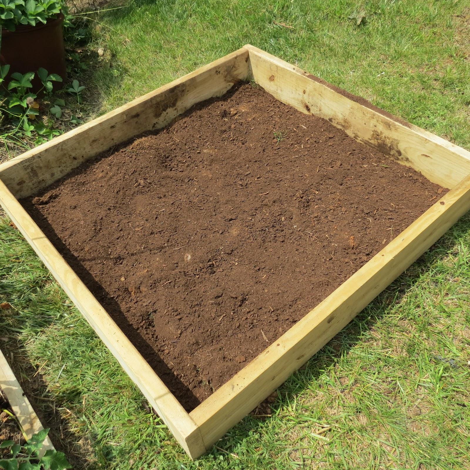 The rusted vegetable garden for Vegetable garden bed design