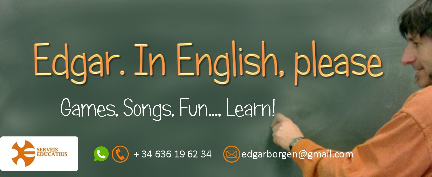 edgarinenglishplease  Activities to learn and practice English