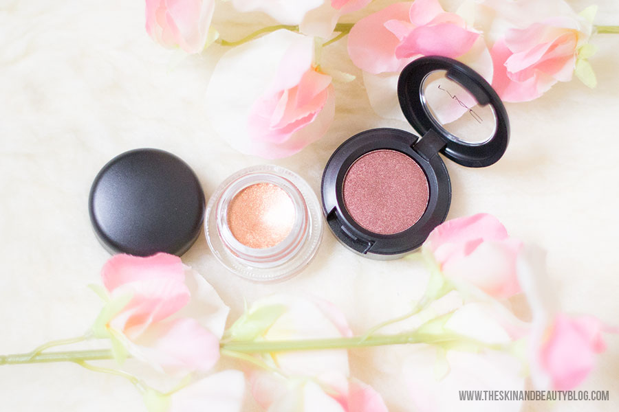 MAC Copperthorn Fluidline, MAC Deep Fixation Eyeshadow Swatches, Haul, Review Swatches