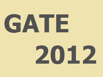 Gate 2012 answer key