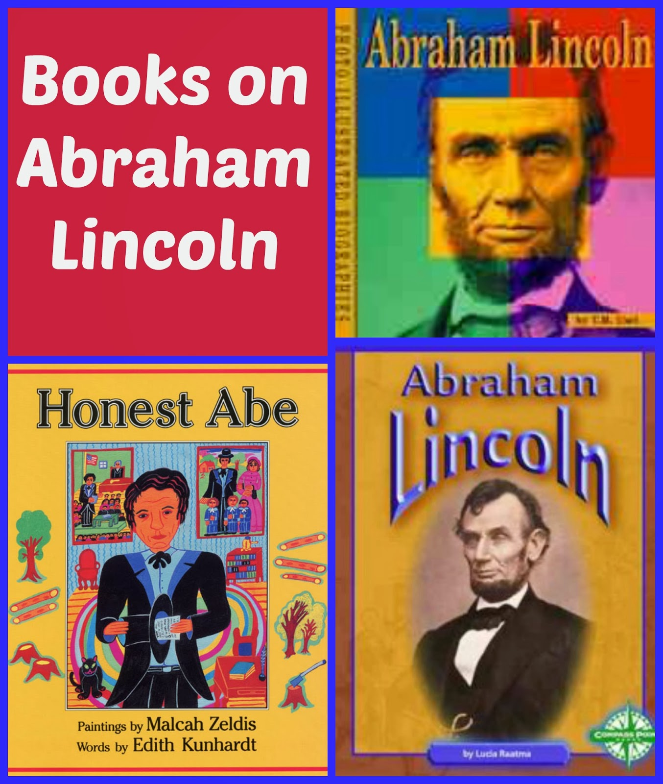 Abe Lincoln Books: Crafty Moms Share: Presidents' Day -- Learning About