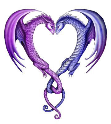 dragons and hearts